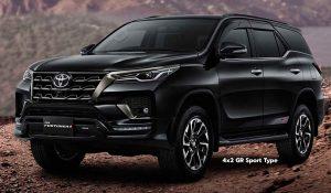 Toyota SW4 GR Sport: La versión con aires deportivos