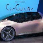 BMW i Vision Circular concept: Un futurista carro eléctrico 100% reciclable