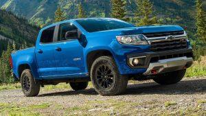 Chevrolet Colorado Trail Boss 2022: Una radical Pick Up 4X4