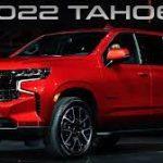 Chevrolet Tahoe 2022: Más moderna y más equipada