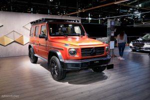 Mercedes-Benz Clase G PROFESSIONAL Line 2022:  Más radical