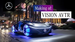 Mercedes-Benz Vision AVTR: Un carro que puede leer el cerebro del conductor