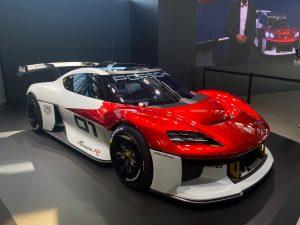 Porsche Mission R Concept: Un carro de carreras cero emisiones